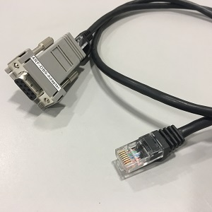 4RF 3ft Cable RJ45 to RS-232 DB9 Female