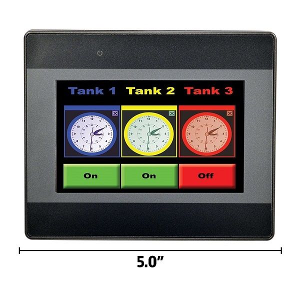 "4.3"" Compact Touchscreen (Dark)"